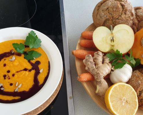 Kürbissuppe aus unserem Kochstudio